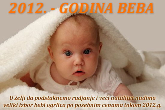 2012 godina beba ogrlice za bebe Premium modeli